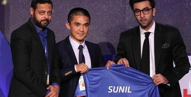 Sunil Chhetri Signed By Mumbai City FC @ Rs1.2 Crores