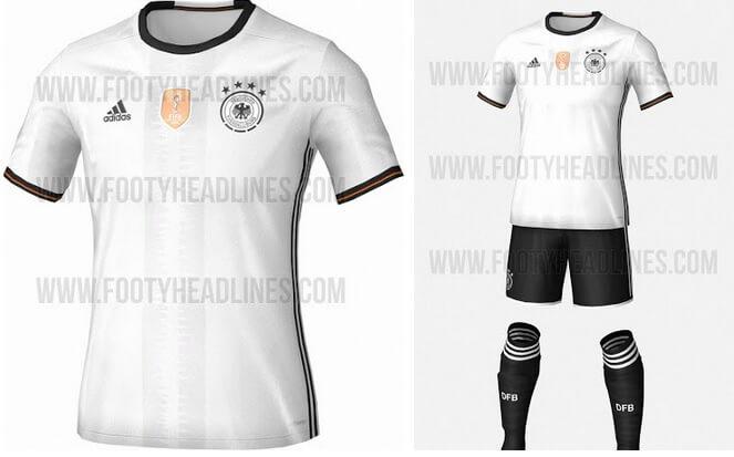 Germany Euro 2016 Kits Home Away Jersey Leaked Footballwood