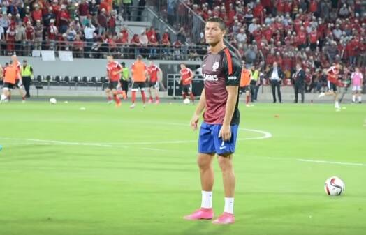 Cristiano Ronaldo reply to Albanian fans