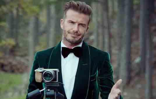 David Beckham James Bond News