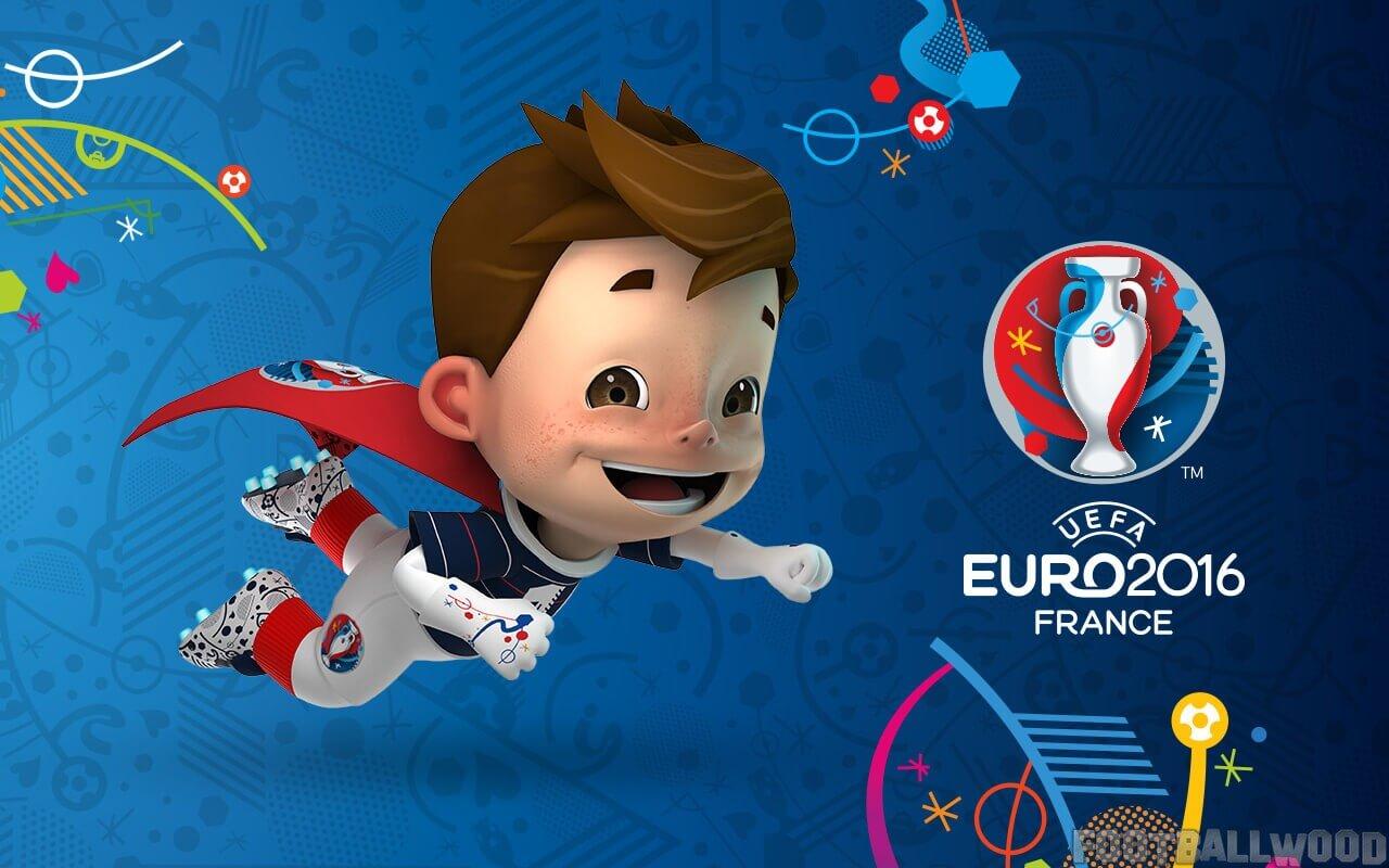 Euro 2016 mascot wallpaper