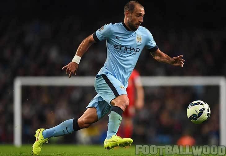 Manchester City defender Pablo Zabaleta