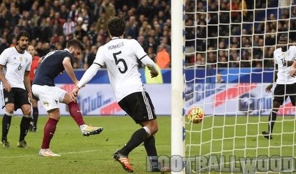 France vs Germany 2-0 Video highlights