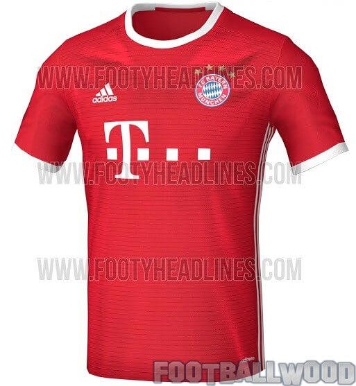 Leaked: Bayern Munich 2016-17 Home Kit   Jersey