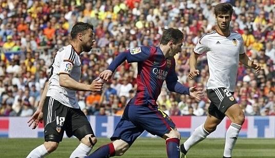 Barcelona vs Valencia telecast in India