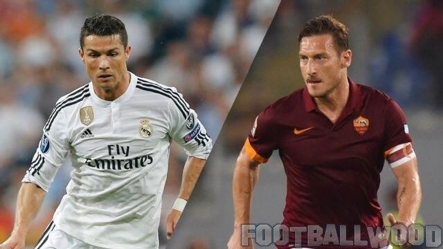 Cristiano Ronaldo vs Totti Image