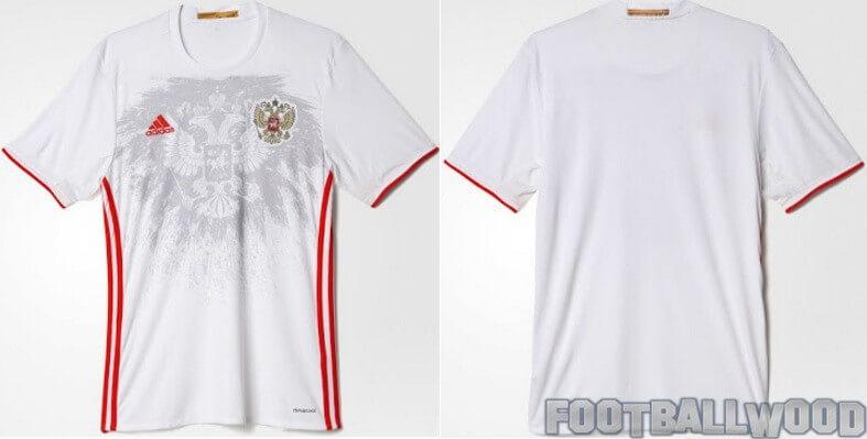 Russia Euro 2016 away jersey