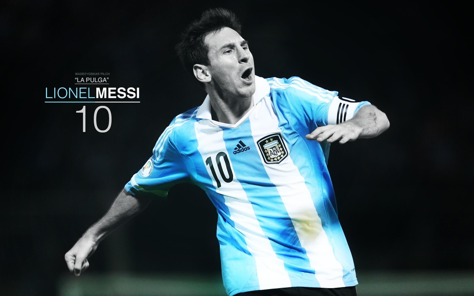 Argentina Copa America 2016 Lionel Messi Wallpaper