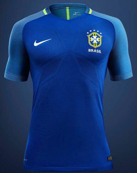 Brazil Copa America 2016 Away Jersey
