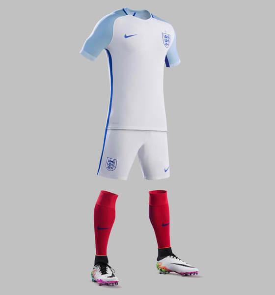 England Euro 2016 Home Jersey