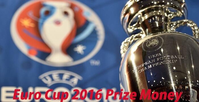 UEFA Euro Cup 2016 Prize Money