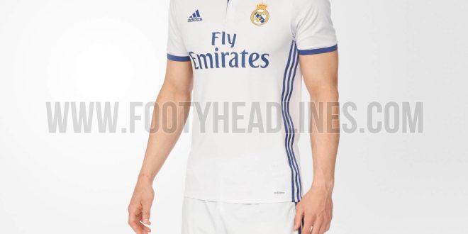 Real Madrid 16–17 Home Kit Leaked
