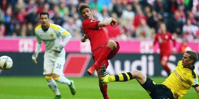 Borussia Dortmund Vs Bayern Munich German Bundesliga 2016-2017