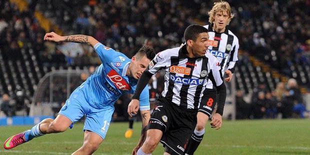 Udinese Vs Napoli Italian Serie A2016–2017