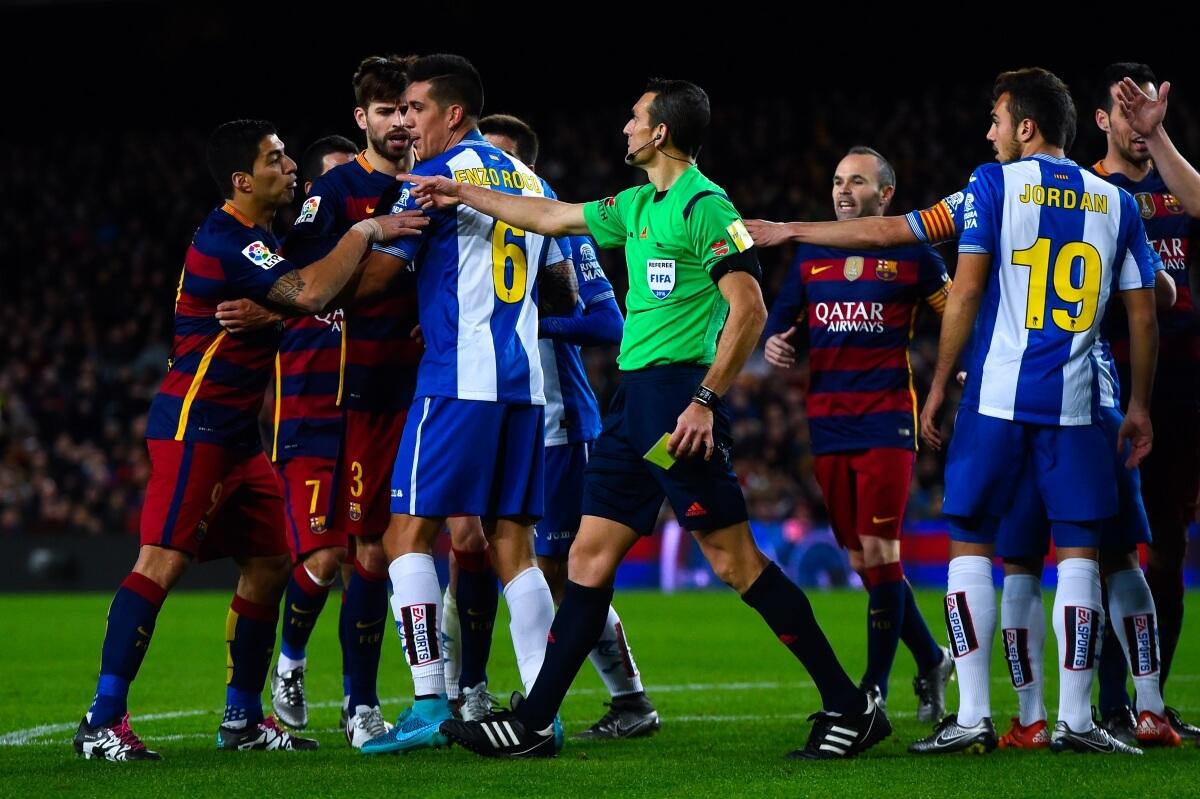 Barcelona Vs: Barcelona Vs Espanyol La Liga 2016-2017 IST Indian Time