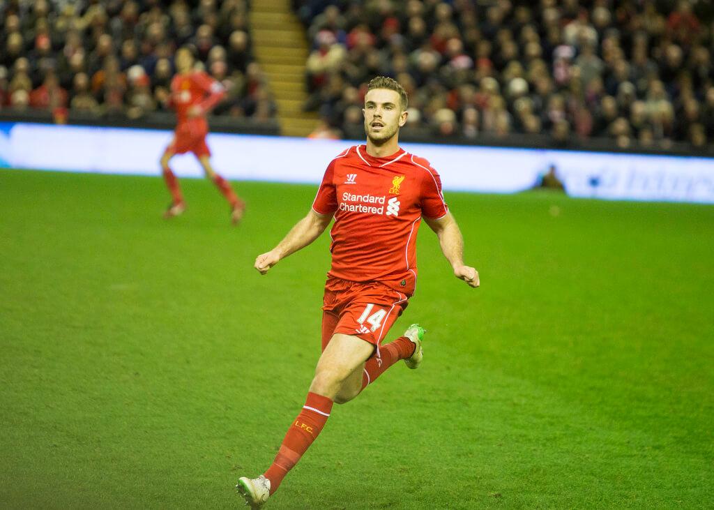 Liverpool Jordan Henderson photo