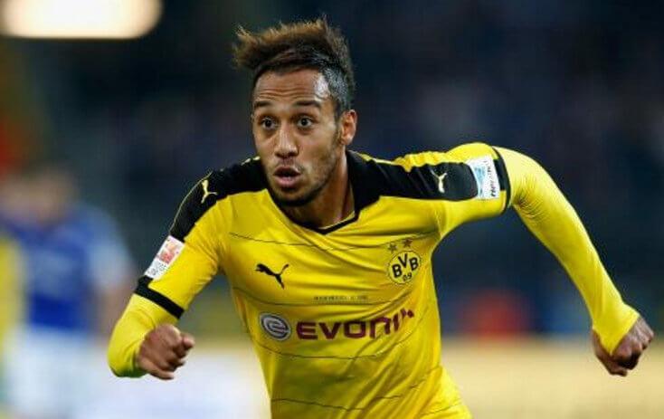 Borussia Dortmund striker Pierre-Emerick Aubameyang photo