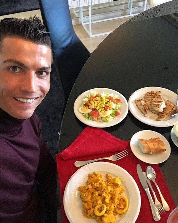 Cristiano Ronaldo Workout Program and Diet