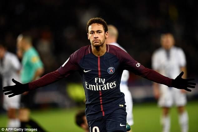 Latest Neymar Goals and Scoring Stats