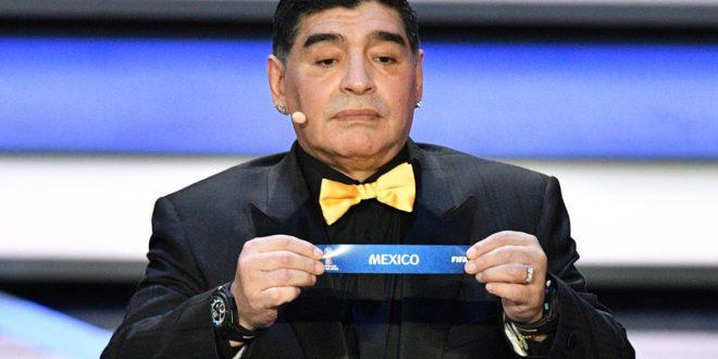 Diego Maradona Criticizes The Presidency Of Gianni Infantino