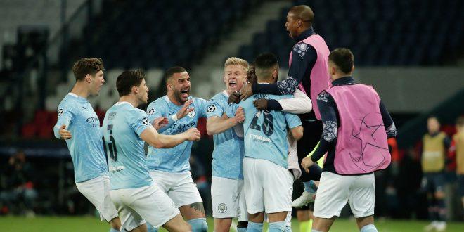 Paris Saint-Germain lose to Manchester City in Champions League semi-final