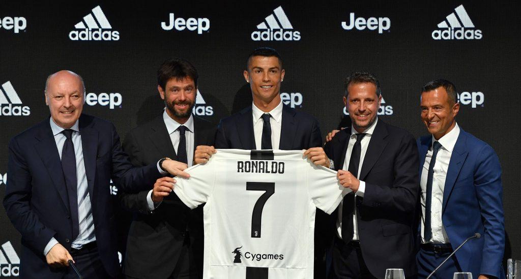 Fabio Paratici - Cristiano Ronaldo