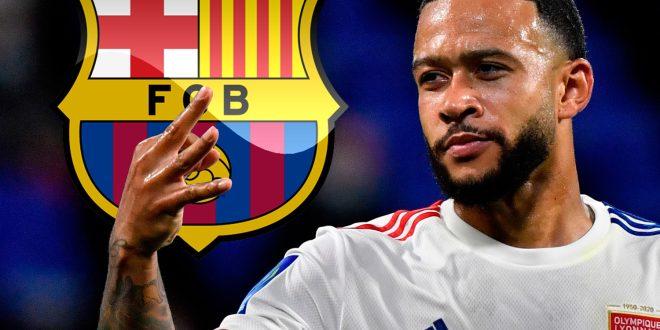 Memphis Depay has officially become a Barcelona player